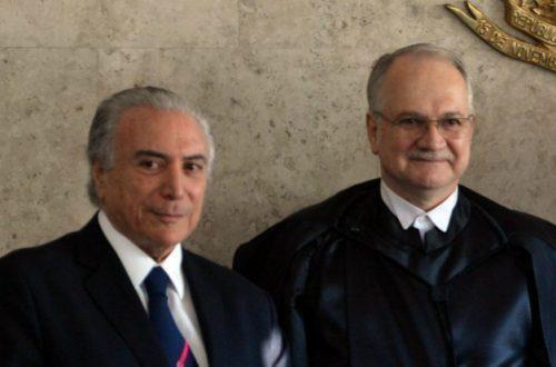 TEMER: NÃO PODE ACONTECER NO PAÍS AMEAÇA A UM MINISTRO DO STF