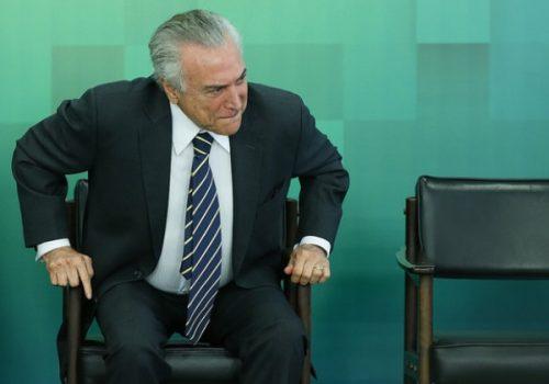 TEMER JÁ SE PREPARA PARA ENFRENTAR TERCEIRA DENÚNCIA DA PROCURADORIA