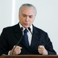 TEMER CONFIRMA DISPUTA A REELEIÇÃO PELA PRESIDÊNCIA DA REPÚBLICA