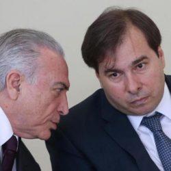 GOVERNO TEMER VAI RETALIAR MAIA EM REFORMA MINISTERIAL, DIZ COLUNA