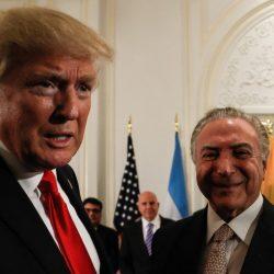 BRASIL ESTÁ ISENTO DE TARIFAS SOBRE AÇO E ALUMÍNIO DURANTE NEGOCIAÇÕES
