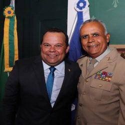 """CORONEL ANSELMO SAÚDA GERALDO Jr.: """"GRANDE AMIGO DA PM/Ba"""""""