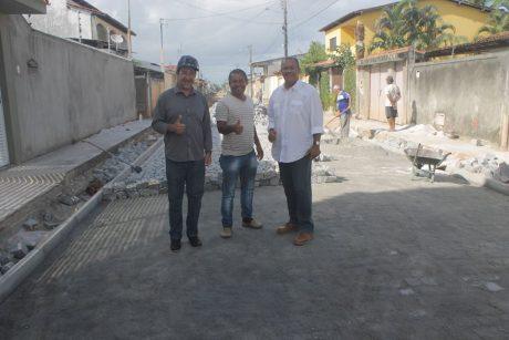 CANAVIEIRAS: PREFEITO VISTORIA OBRAS NA CIDADE