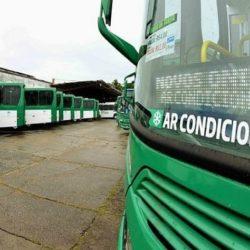 NOVOS ÔNIBUS COM AR-CONDICIONADO COMEÇAM A OPERAR AMANHÃ
