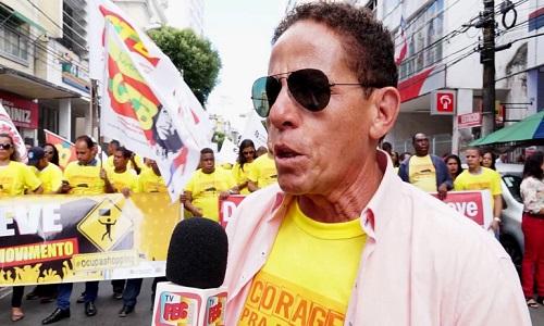 ENTREVISTA - RENATO EZEQUIEL PRESIDENTE DO SINDICATO DOS COMERCIARIOS DE SALVADOR