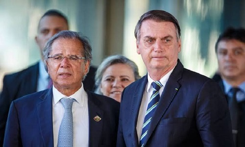 SE GUEDES CAIR,  A POLÍTICA ECONÔMICA DE BOLSONARO FICARÁ IGUAL A DE DILMA