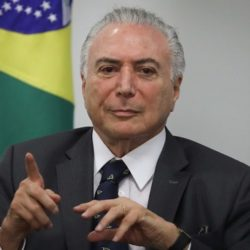 PRESIDENTE DO STJ SUSPENDE PROCESSO CONTRA TEMER