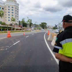 TRÂNSITO É MODIFICADO NA REGIÃO DO SHOPPING DA BAHIA
