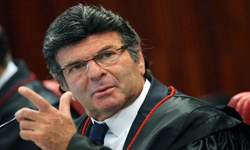 """""""É importante respeitar as decisões judiciais para pressuposto do Estado Democrático de Direito"""". Presidente do Supremo Tribunal Federal, ministro Luiz Fux"""