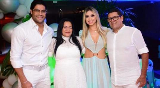 FAMÍLIA DE HULK  APOIA O NOIVADO DELE COM SOBRINHA DA EX