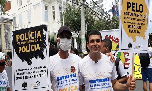 MUDANÇA DO GARCIA: POLICIAIS COBRAM DIÁLOGO COM O GOVERNO DO ESTADO