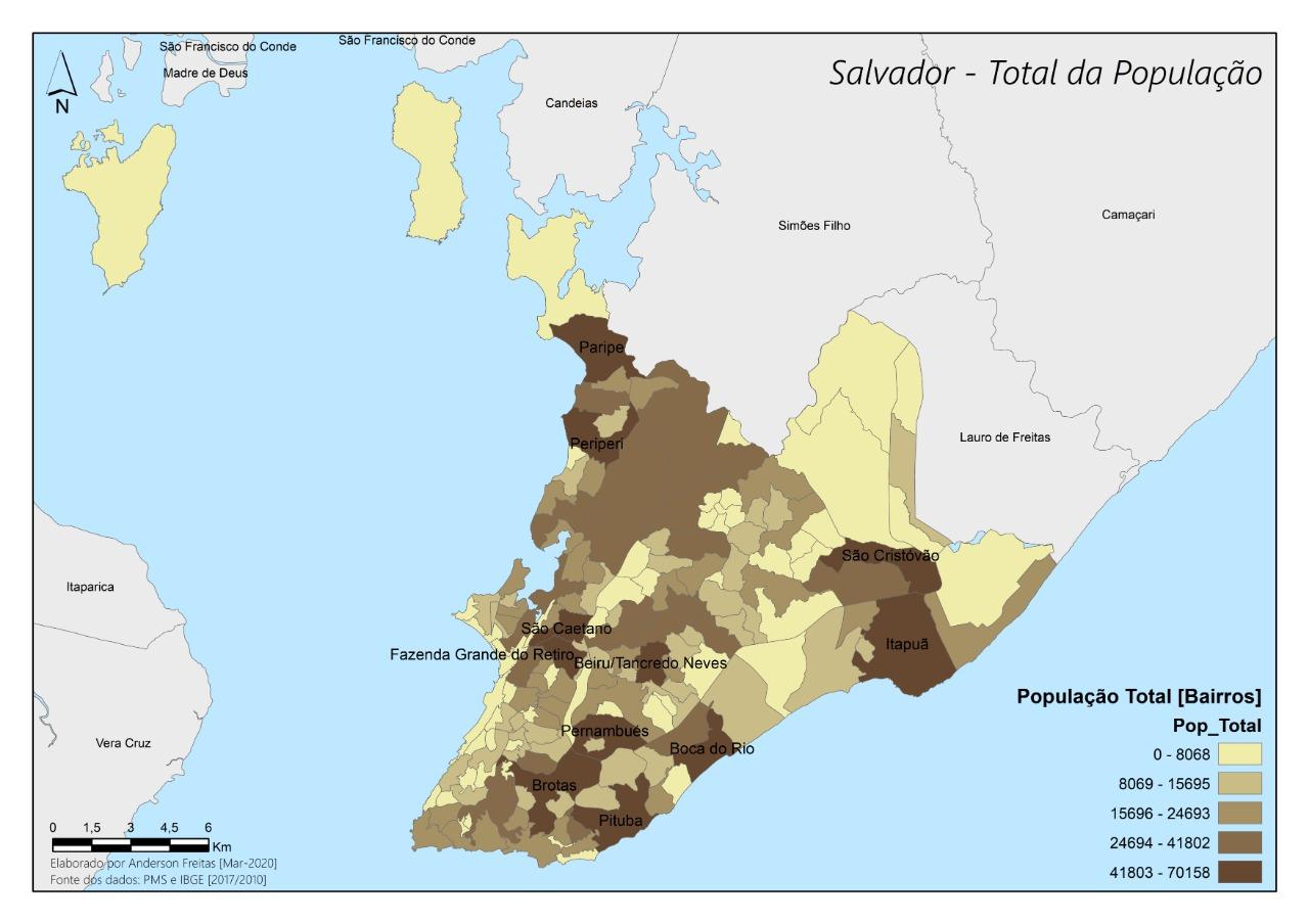 CORONAVÍRUS: CINCO BAIRROS DE SALVADOR CONCENTRAM 30% DOS CASOS