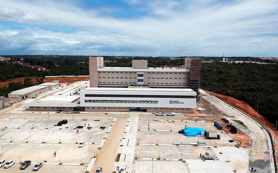 HOSPITAL METROPOLITANO DEVE COMEÇAR A FUNCIONAR EM BREVE