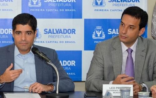 NETO E PRATES DIZEM QUE SALVADOR DEVE CHEGAR HOJE AOS 75% DE OCUPAÇÃO DOS LEITOS DE UTI E ABERTURA DO COMÉRCIO FICA PRÓXIMA