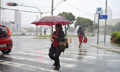 FERIADÃO TERÁ NEBULOSIDADE E PANCADAS DE CHUVA NA BAHIA