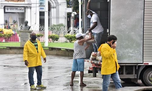 REGIÕES COM LOCKDOWN RECEBEM SERVIÇOS DE SAÚDE E CESTA BÁSICA