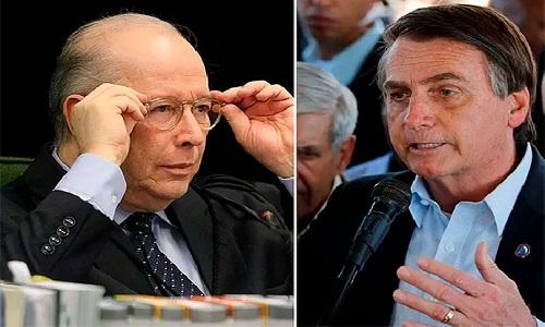 CELSO ADVERTE BOLSONARO QUE DESCUMPRIR DECISÃO JUDICIAL É CRIME DE RESPONSABILIDADE