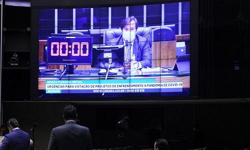 PLENÁRIO DA CÂMARA APROVA TEXTO BASE DE MP QUE PERMITE SUSPENSÃO DE CONTRATO DE TRABALHO E REDUÇÃO SALARIAL