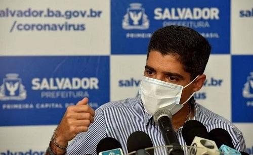 'ESPERO FIRMEZA DOS PREFEITOS PARA NÃO SUPERLOTAR UTIs DE SALVADOR', DIZ ACM NETO