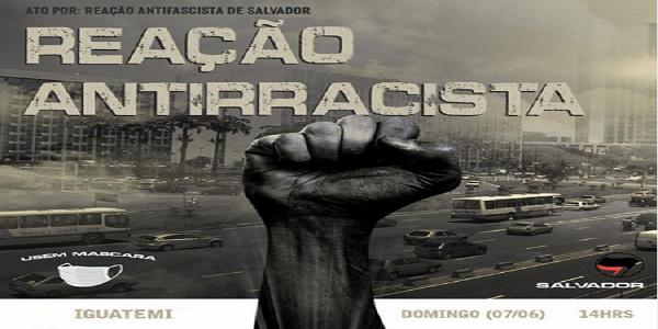 SALVADOR TERÁ MANIFESTAÇÃO PRÓ-DEMOCRACIA NO DOMINGO