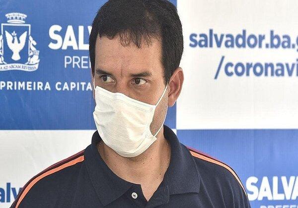"""""""Aguardamos a situação do nosso recurso, ao eminente ministro Dias Toffoli, para abertura de mais 14 leitos [para pacientes com covid-19] no Hospital Salvador"""".    ___________________________________Secretário de Saúde de Salvador Léo Prates"""