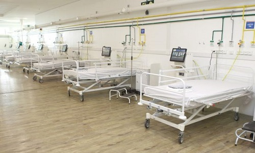 HOSPITAL DA ARENA FONTE NOVA RECEBE 20 NOVOS LEITOS DE UTI