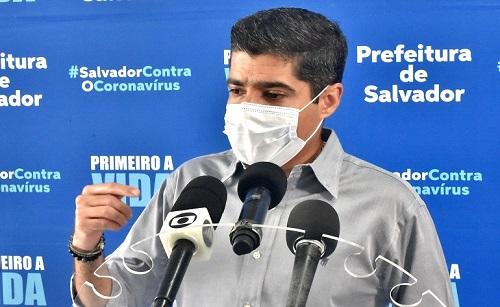 """EM TOM DE """"ALERTA"""", NETO """"EXIGE' VACINA DO GOVERNO BOLSONARO"""