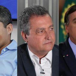 NOVA PESQUISA AVALIA NETO, RUI E BOLSONARO EM SALVADOR; VEJA OS PERCENTUAIS
