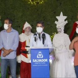 INAUGURADA DECORAÇÃO DE NATAL DO CAMPO GRANDE