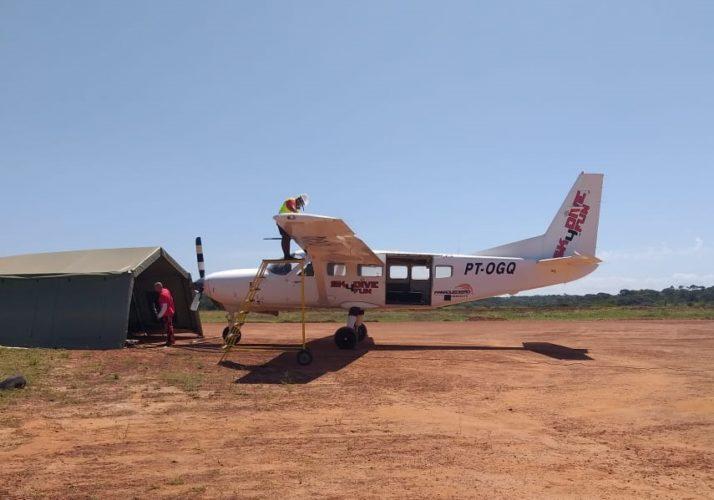 calor afeta aeronaves