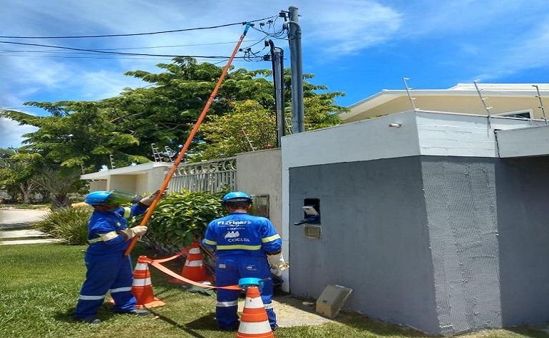ENERGIA É RESTABELECIDA EM MORRO DE SÃO PAULO E BOIPEBA