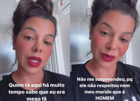 "EVELYN REGLY REVELA ""DESRESPEITO"" DE NEGO DO BOREL"