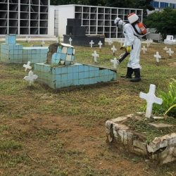 BRASIL BATE NOVO RECORDE E REGISTRA 3.869 MORTES POR COVID-19