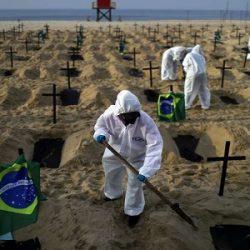 BRASIL SUPERA AS 490 MIL MORTES POR COVID, DIZ CONASS