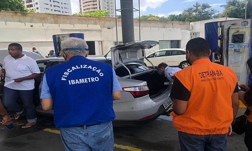 DETRAN-BA E IBAMETRO FISCALIZAM USO IRREGULAR DE GÁS NATURAL