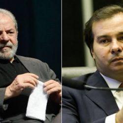 LULA PODE SE ENCONTRAR COM RODRIGO MAIA EM BRASÍLIA