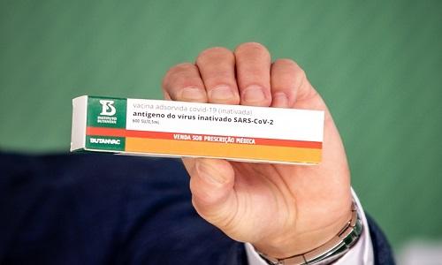 BUTANTAN ENTREGA5,1 MI DE DOSES DA CORONAVAC AO GOVERNO