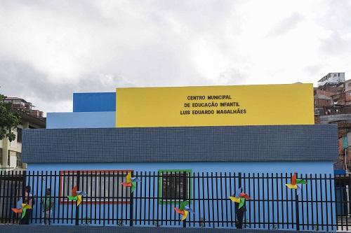 SALVADOR GANHA CMEI RECONSTRUÍDO E MODERNO