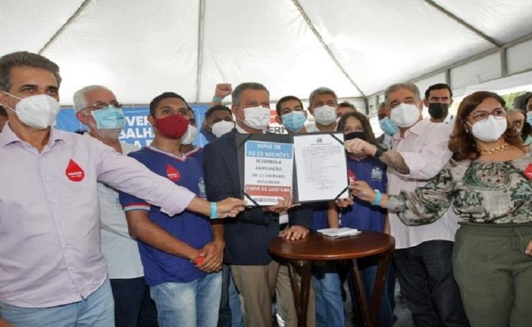 GOVERNADOR ANUNCIA R$ 148 MILHÕES EM NOVOS INVESTIMENTOS